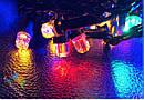 Гирлянда Штора Кристалл 180 LED 1,5*1,5 м Цвета в Ассортименте Черный Провод top, фото 2