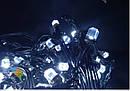 Гирлянда Штора Кристалл 180 LED 1,5*1,5 м Цвета в Ассортименте Черный Провод top, фото 3