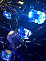 Гирлянда Штора Кристалл 180 LED 1,5*1,5 м Цвета в Ассортименте Черный Провод top, фото 5