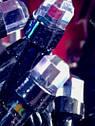Гирлянда Штора Кристалл 180 LED 1,5*1,5 м Цвета в Ассортименте Черный Провод top, фото 6