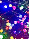 Гирлянда Нить Линза 300 LED на Елку V5 Цвета в Ассортименте Черный Провод sale, фото 7