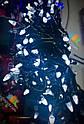 Гирлянда Нить Конус 500 LED на Елку Цвета в Ассортименте Черный Провод sale, фото 3