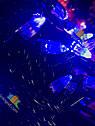 Гирлянда Нить Конус 500 LED на Елку Цвета в Ассортименте Черный Провод sale, фото 4