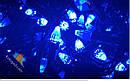 Гирлянда Нить Конус 500 LED на Елку Цвета в Ассортименте Черный Провод sale, фото 7