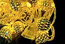 Гирлянда Нить Шарики Золотые 20 LED sale, фото 2