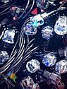 Гирлянда Нить Кристалл 300 LED на Елку Цвета в Ассортименте Черный Провод sale, фото 3