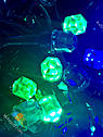 Гирлянда Нить Кристалл 300 LED на Елку Цвета в Ассортименте Черный Провод sale, фото 5