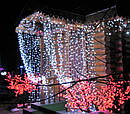 Гирлянда Штора Уличная 240 LED 3х2 м Цвета в Ассортименте sale, фото 2