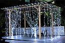Гирлянда Штора Уличная 240 LED 3х2 м Цвета в Ассортименте sale, фото 4