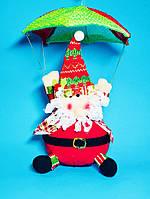 Мягкая Игрушка Дед Мороз Санта Клаус на Парашюте Santa Claus Атмосфера Нового Года Рождества top