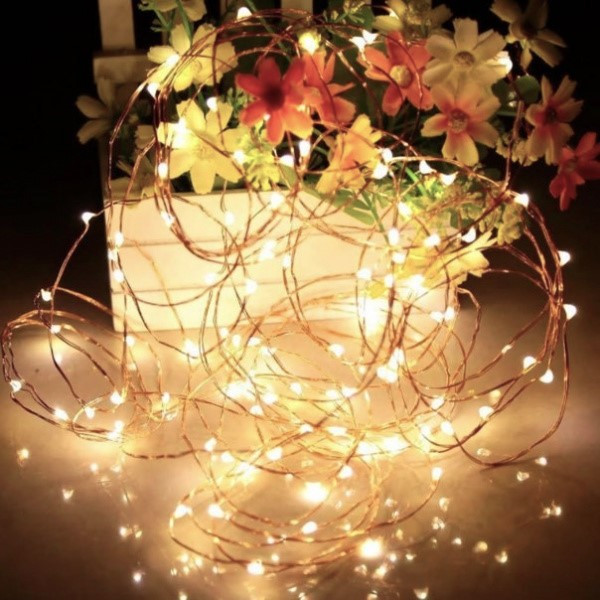 Гирлянда Нить Капля на Проволоке Капелька 500 LED Цвета в Ассортименте sale