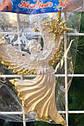 Елочная Игрушка Ангел с Звездой Рождественский Золотой Серебряный sale, фото 2
