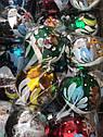 Елочные Шары Бычок Коровка Глянец 10 см Новогодние Шары на Елку в Год Быка  6 шт в sale, фото 2