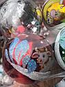 Елочные Шары Бычок Коровка Глянец 10 см Новогодние Шары на Елку в Год Быка  6 шт в sale, фото 3