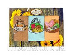 Набір кухонних рушників вафельних 35*75 арт.10350 ТМ Полотенце
