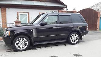 Пороги боковые Land Rover Range Rover Vogue 2002-2012 оригинальный дизайн