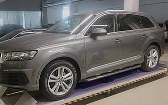Подножки Audi Q7 2016-