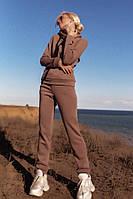 Спортивный женский костюм 2020/2021 на флисе