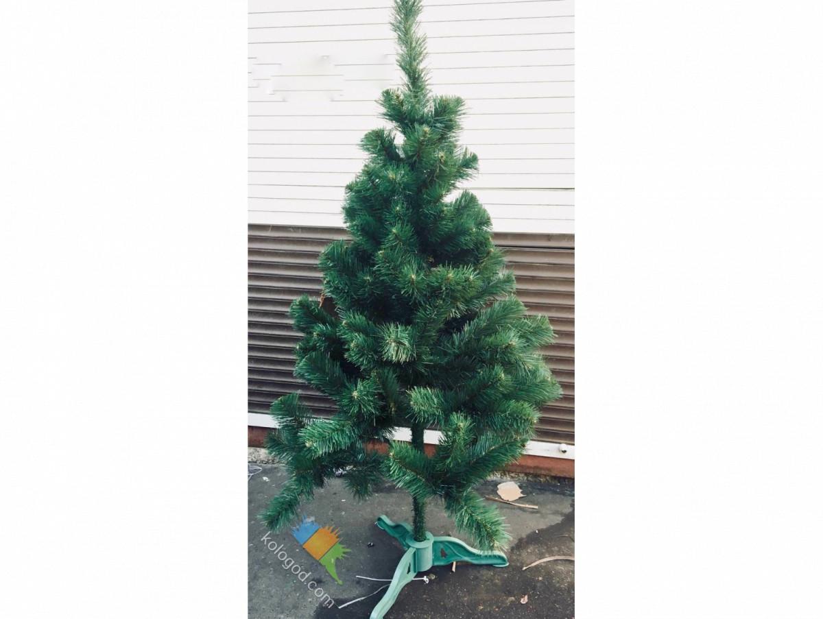 Искусственная Ель 120 см ПВХ Елка Новогодняя 1,2 метра sale