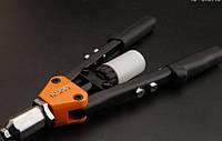 """Промышленный ручной рычажный заклепочник 13"""" 2.4 - 6.4 мм Harden Tools 610115"""