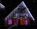 Уличная Гирлянда Бахрома 3,3 х 0,7 м 120 LED Цвета в Ассортименте sale, фото 2