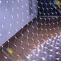 Гирлянда Сетка 144 LED 1,5*1,5 м Цвета в Ассортименте sale, фото 3