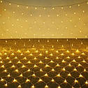 Гирлянда Сетка 144 LED 1,5*1,5 м Цвета в Ассортименте sale, фото 5