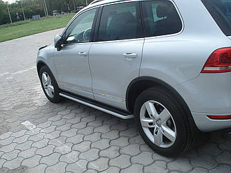 Пороги боковые Volkswagen Touareg 2010-2017 2шт. дизайн ОРИГИНАЛА