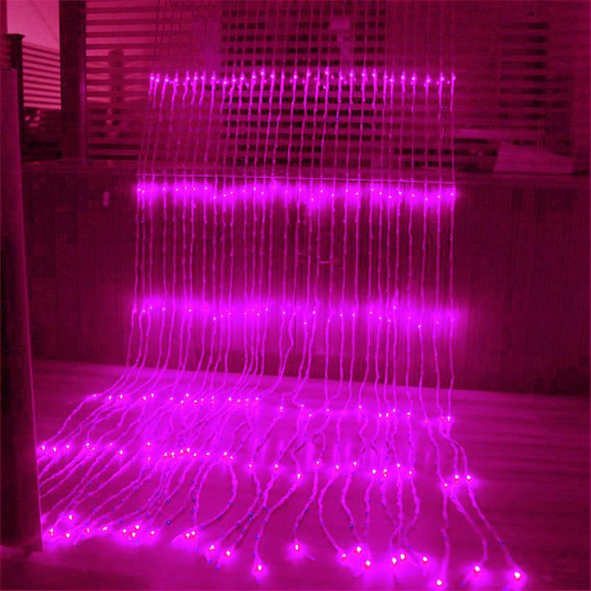 Гирлянда Водопад 480 LED 3 х 2 м Цвет Мульти Розовый sale
