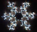 Гирлянда Снежинка Уличная Светодиодная LED Большая 40х40 Цвета в Ассортименте sale, фото 2
