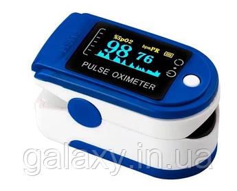 Пульсоксиметр кольоровий Pulse Oximeter на палець