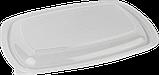 Контейнер ланч-бокс черный с крышкой, 700 мл, упаковка, фото 3