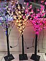 Светодиодное Дерево На Стойке Новогоднее Украшение для Декора Цветы 1,5 Метра sale, фото 2