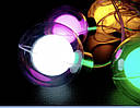 Гирлянда Бахрома Лампочка в Шаре Цвет Мульти 3 х 0,7 sale, фото 2