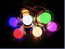 Гирлянда Бахрома Лампочка в Шаре Цвет Мульти 3 х 0,7 sale, фото 3