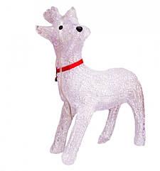 Олененок Игрушка с Подсветкой 40 см для Атмосферы Нового Года Рождества sale