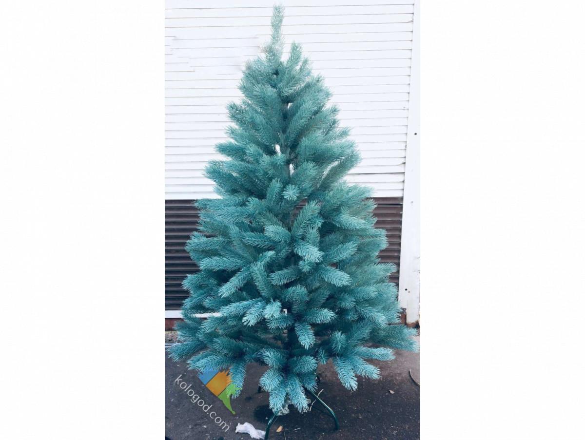 Голубая Ель Литая Искусственная 150 см Елка Новогодняя 1,5 метра sale