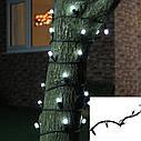 Уличная Гирлянда Нить Зеленый Провод 600 LED Лампочек Цвет в Ассортименте sale, фото 2
