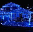 Уличная Гирлянда Нить Зеленый Провод 600 LED Лампочек Цвет в Ассортименте sale, фото 4