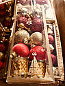 Новогодний Рождественский Подарочный Набор Украшение Елочная Игрушка sale, фото 3