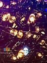 Гирлянда Нить Мерцающая 500 LED Flash на Елку Цвета в Ассортименте Черный Провод sale, фото 4