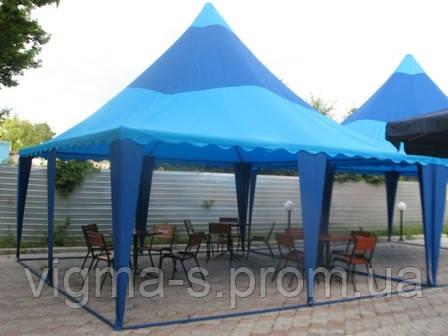 Пошив шатров и палаток для летнего кафе и ресторана
