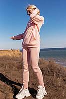 Женский спортивный костюм теплый на флисе