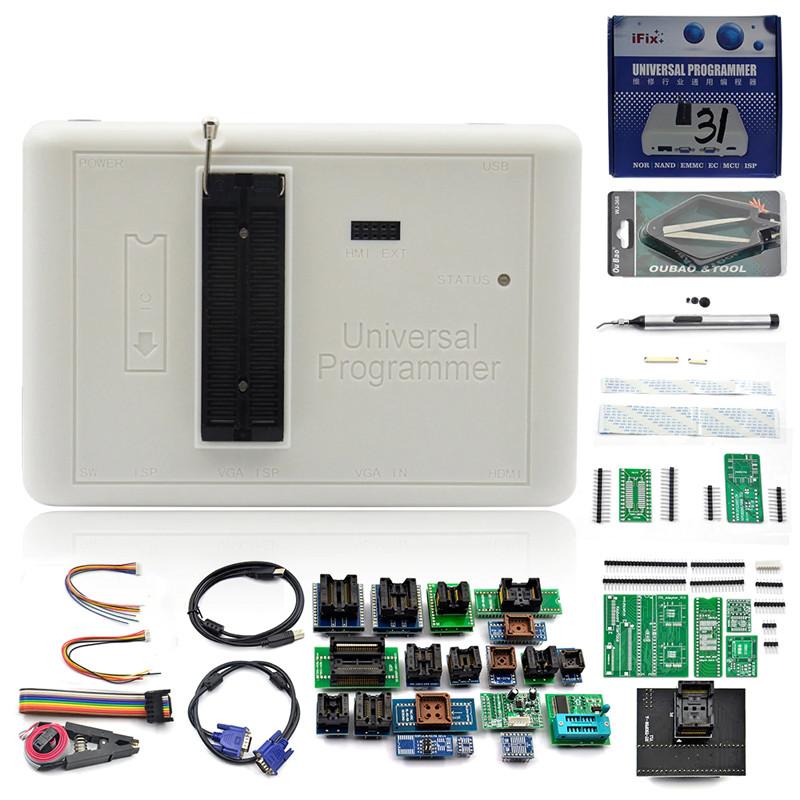 Программатор RT809H + 35 набор адаптеров кабелей iFix EMMC-Nand FLASH