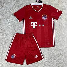 Футбольная форма Бавария 2020-2021 домашняя, красная