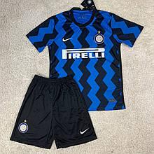 Футбольная форма Интер 2020-2021 домашняя, синяя