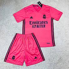 Футбольная форма Реал Мадрид 2020-2021 выезд/розовый