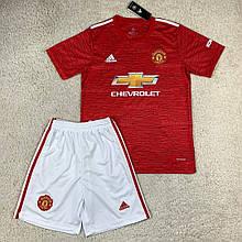 Футбольная форма Манчестер Юнайтед 2020-2021 домашняя, красная