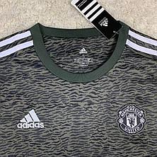 Футбольная форма Манчестер Юнайтед 2020-2021 выезд/черный, фото 3