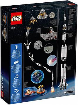 Lego Ideas NASA Аполлон Сатурн 5